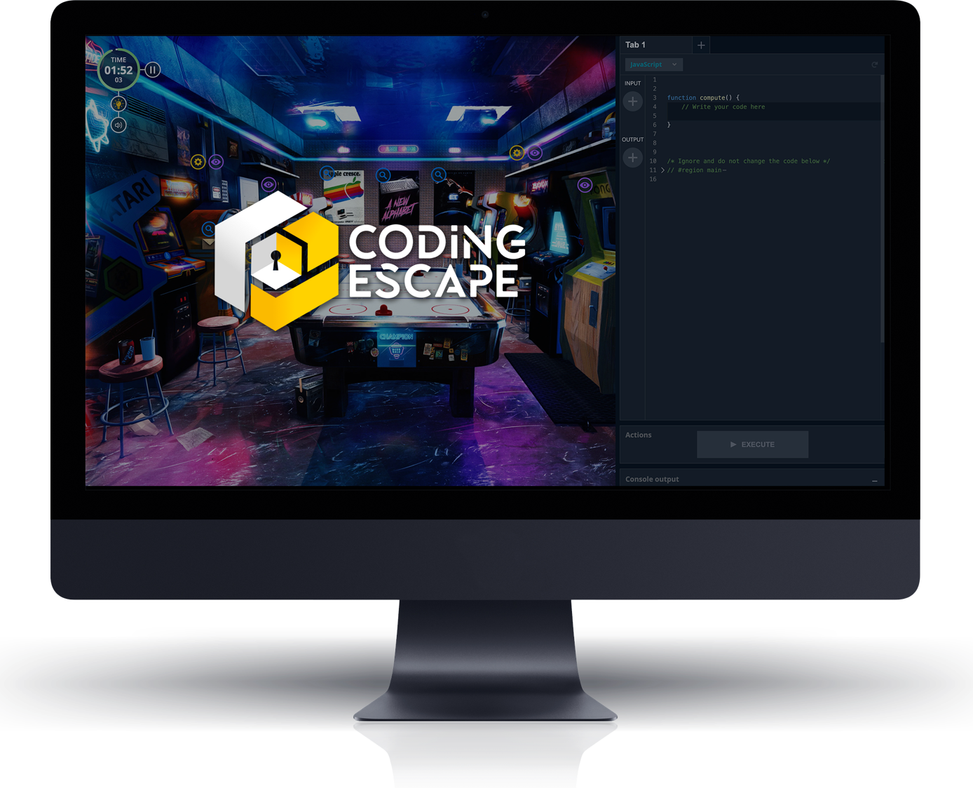 The very first escape game for coders and non-coders